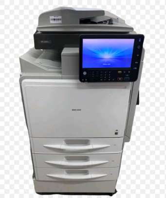 Latest ricoh aficio mpc401 digital photocopier machine