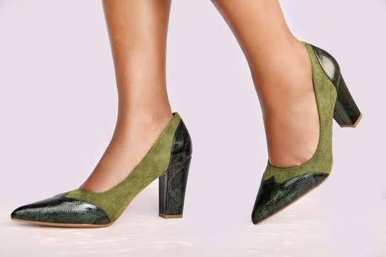 Chunky closed heels image 4