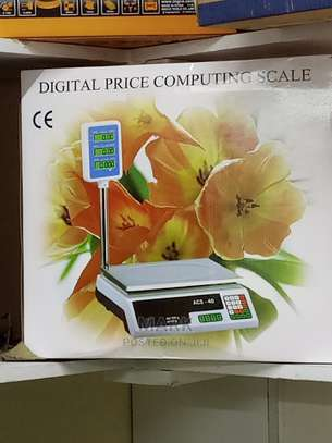 Digital Weighing Scale With a Pole image 1