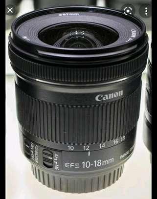 Canon camera lens 10-18mm image 2