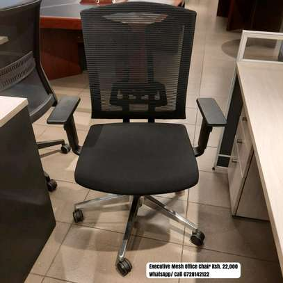Executive Mesh-Back Office Chair image 1
