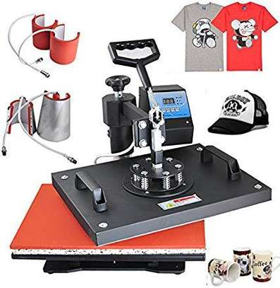 Heat Press 5 in 1 , 8 in 1 and Flatbed image 1