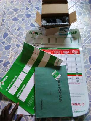 Aggregated Mpesa line available