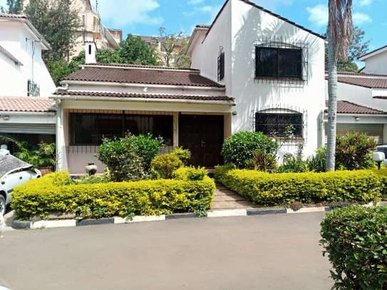 4 bedroom townhouse for rent in Kilimani image 1