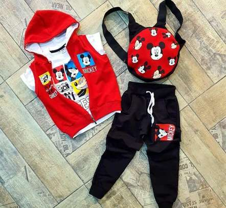 Girls mickey outfit 2-8yrs