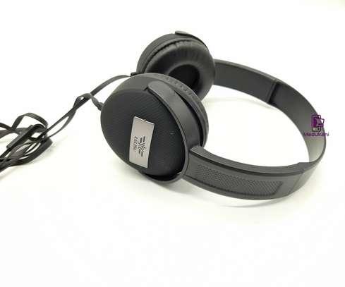 Lelisu LS-813 Stereo Hi-Fi Corded Headphones with Microphone image 2