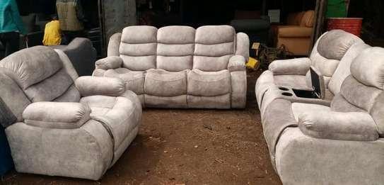 New cream recliner seat