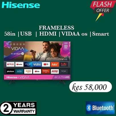 58 Hisense Smart UHD 4K LED TV - Flash Sale image 1