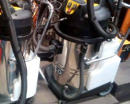 Brand new carpets and vacuuming machine image 1