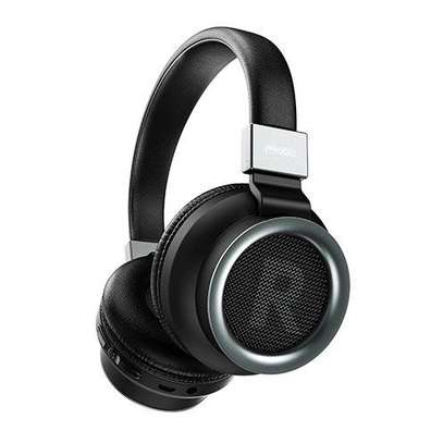 PRODA BH400 Wireless Bluetooth Headphone Black image 1