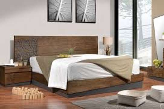 WoodLily King Size bed 2Nightstands image 1