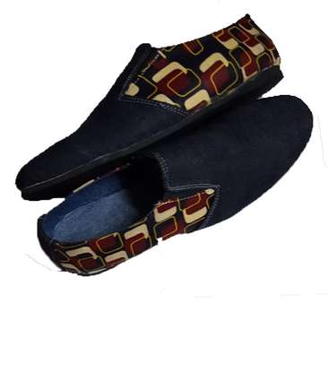 Ankara themed loafers:size 40 image 1