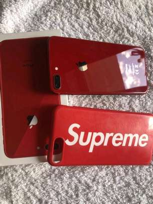 Apple Iphone 8 Plus Red 256Gb And Iwatch Nike Edition image 1
