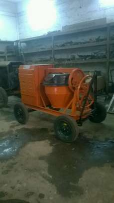 Concrete Mixer and Poker For Hire