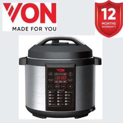 VON VSCP60MDX Pressure Cooker 1000W - 6L image 1