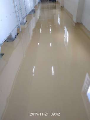 Fossilcote Floor installation for Ajabu Flour Mill Co. image 12