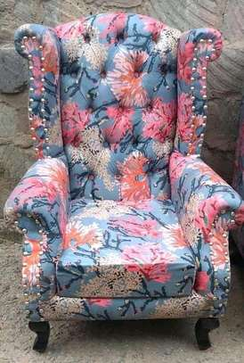 Gorgeous Modern Quality Wingback Chair image 1