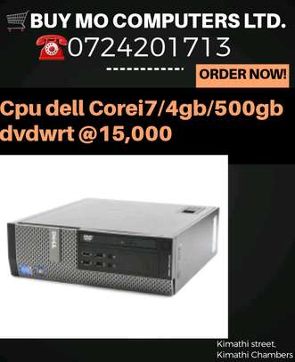 Cpu dell corei7/4gb/500gb dvd wrt image 1