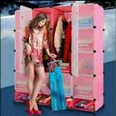 Portable Plastic Quality Wardrobes