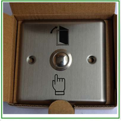 Exit push button for access control image 2