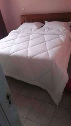 White plain cotton duvets image 2