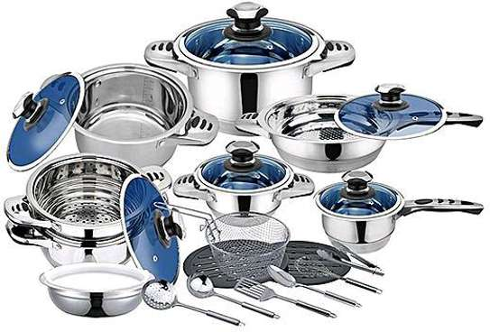 25pcs stainless steel Cookware Set