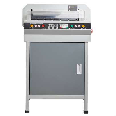 """18"""" 450mm Automatic Electric Paper Cutter Cutting Machine Power-off protection image 2"""