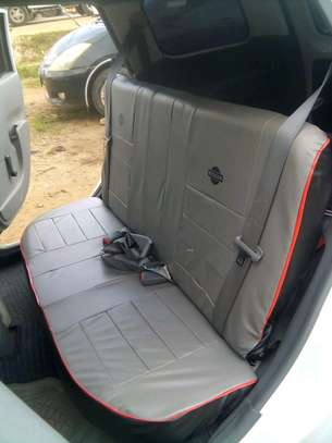 GREY CAR SEAT COVERS image 11