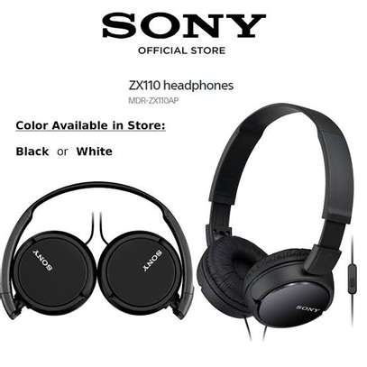 Sony MDRZX110AP ZX Series Extra Bass image 2