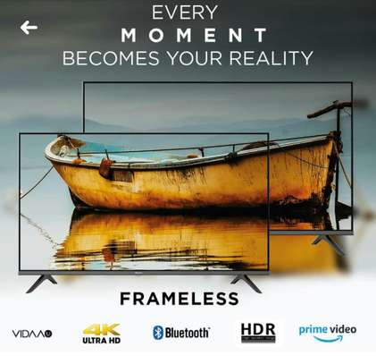 New Hisense 65inch 4k uhd HDR Frameless and Bluetooth image 1