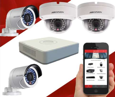 Hik vision 4 Camera CCTV sales kit image 2