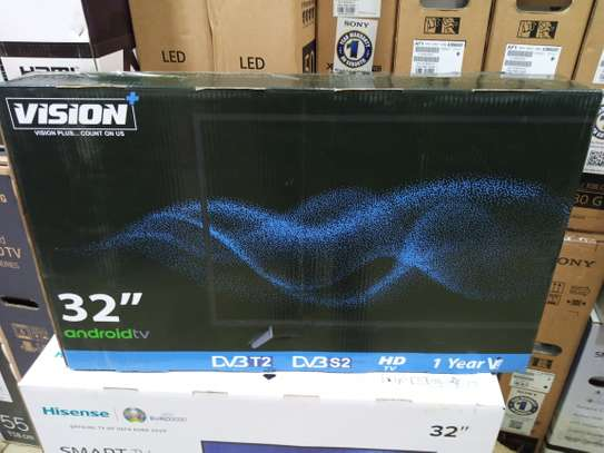 """32"""" vision plus smart Android HD TV image 1"""