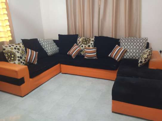 7seater U shaped sofa