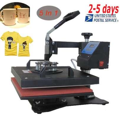 "Heat Press Transfer 15""x15"" Printing Machine Swing Away image 1"
