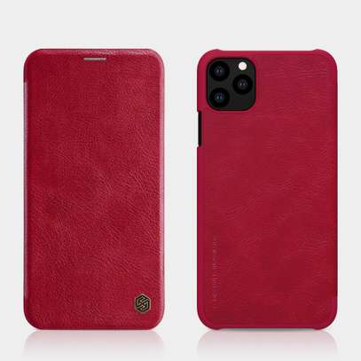 iPhone 11 Pro Max Nillkin Qin Series Leather Case image 3