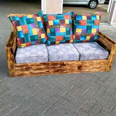 Beautiful Modern Quality 3 Seater Pallet Sofa image 1