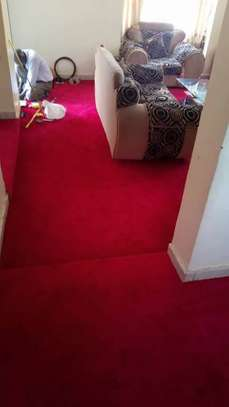 RED CARPETING ON YOUR STAIR CASES image 1