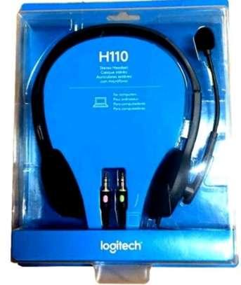Logitech H110 Headset image 1