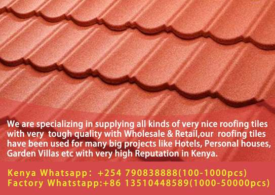 stone coated.decra.iron sheet.roofing tiles.shingles.classic image 1
