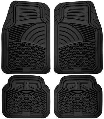Brand new car floor mats both rubber and woolen for all models image 2