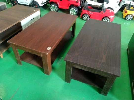 Wooden coffee table image 1