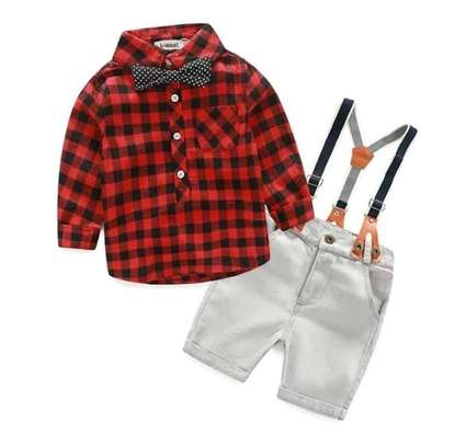 4pc Boy Outfit - 4 - 6 Years
