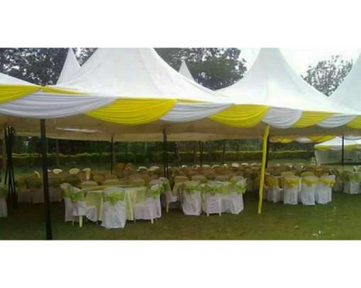 Hiring Tents, tables, chairs and offer decor services, kids themed birthday party set up bouncing castles and much more