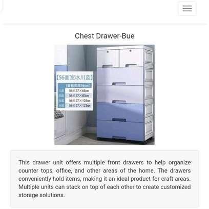 plastic chest drawer image 3
