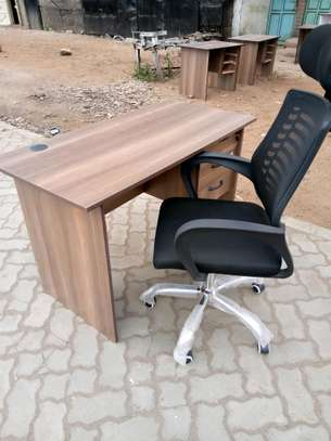 Office desk 1.2mtr+ chair on sale image 2