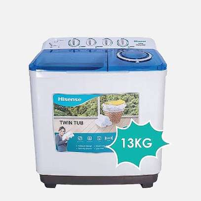 13Kg Hisense Washing Machine -Twin Tub Semi-Automatic image 1