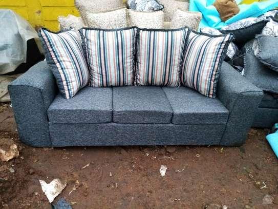 Affordable three sofa set image 1