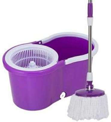 DOUBLE SPIN MOP BUCKET image 1