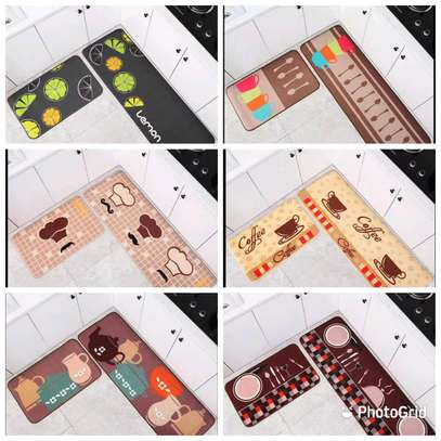 2 pieces kitchen mat set image 1