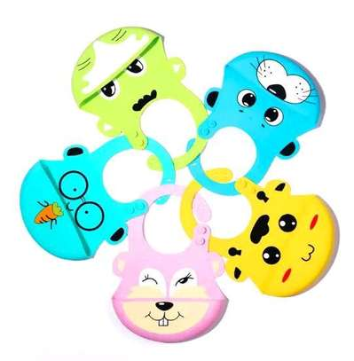 Soft Silicone Baby Bibs image 4